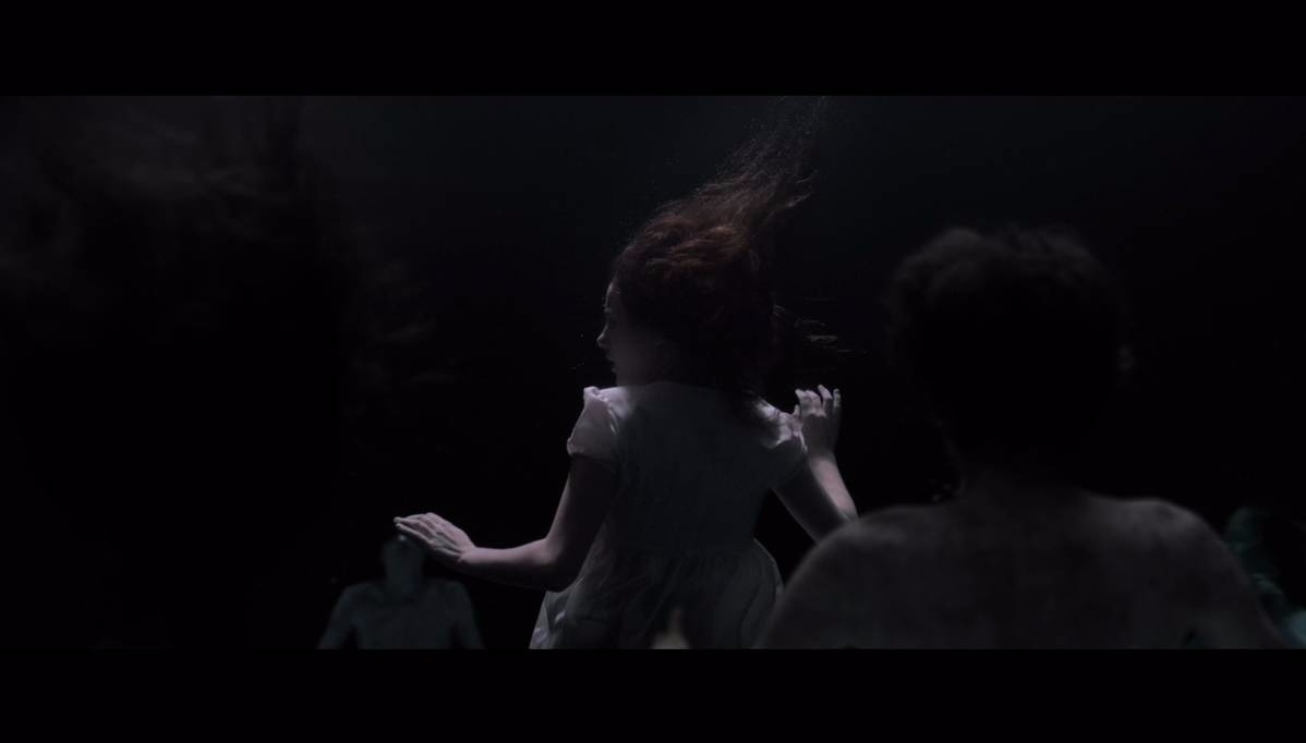 charlotte vega the lodgers underwater sequence Bowsie VFX