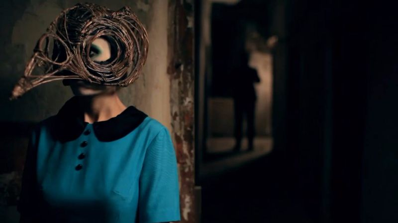 james vincent mcmorrow sparrow and wolf music video still copper mask